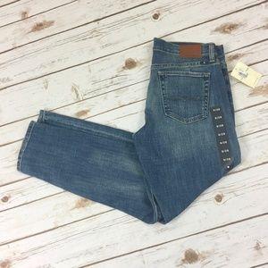 NWT Lucky Brand Sienna Slim Boyfriend Jeans Sz 28